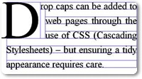 How To Add a Drop Cap To Each Post Using CSS In Blogger Blog