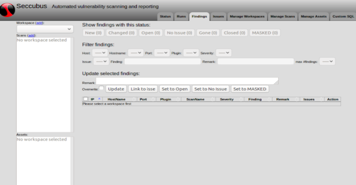 SeccuBus : Easy Automated Vulnerability Scanning, Reporting & Analysis