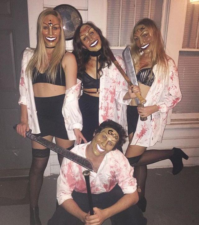 Disfraces para halloween mujeres en grupo