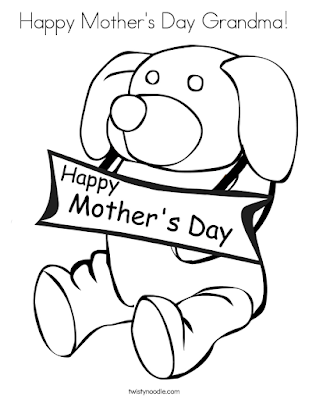 printable mothers day cards to color for kids