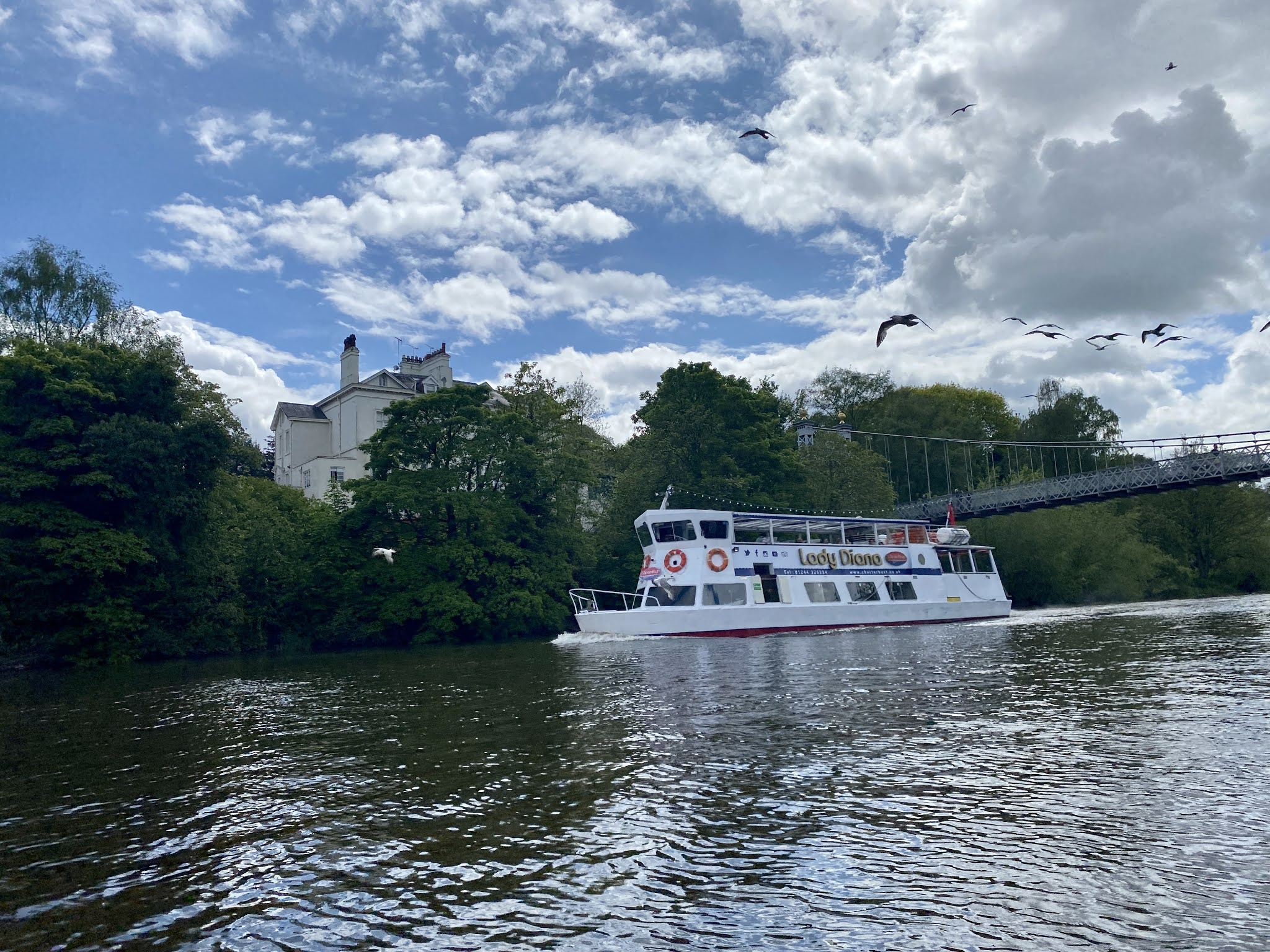 Cruise on the River Dee