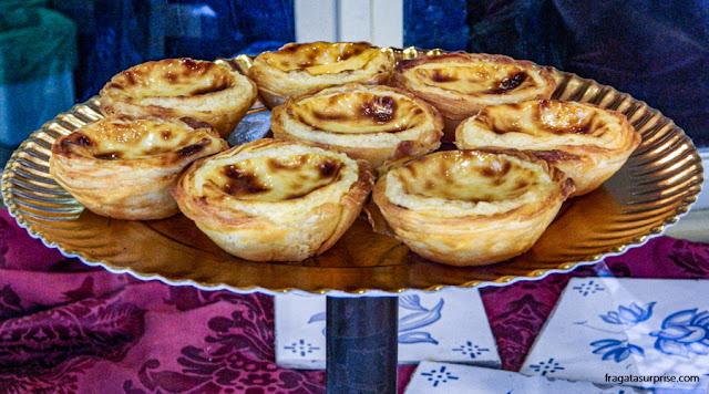 Pastéis de nata na Fábrica de Pastéis de Belém, em Lisboa