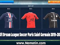 Logo & Kit Dream League Soccer Paris Saint Germain (PSG) 2019-2020