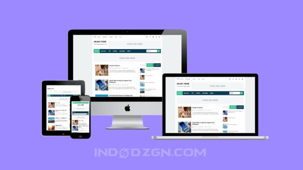 download template arlina premium gratis, template arlina theme premium, free premium blogger template