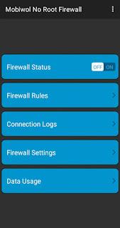cara menonaktifkan wa firewall
