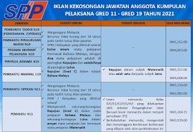 Jawatan Kosong Terkini SPP ~ Gaji RM1,216 - RM4,008 ~ 1299 Kekosongan Jawatan