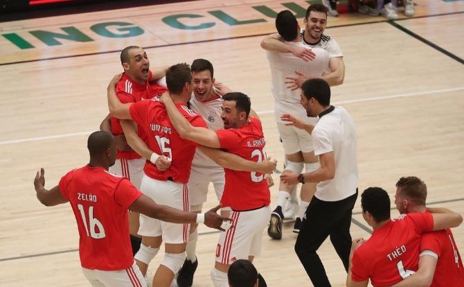 Benfica Blogs Campeão Nacional de Voleibol 2018/19