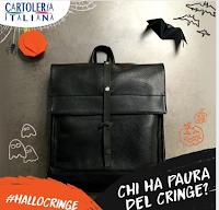 Logo #HalloCringe: vinci gratis una borsa ''Halloween''