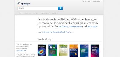akses jurnal internasional Springer