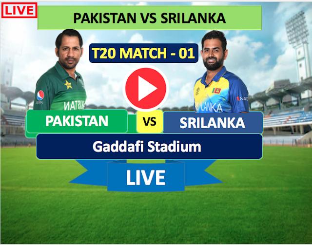 Pakistan vs SriLanka 1st T20 Match : Watch Live Cricket Streaming online