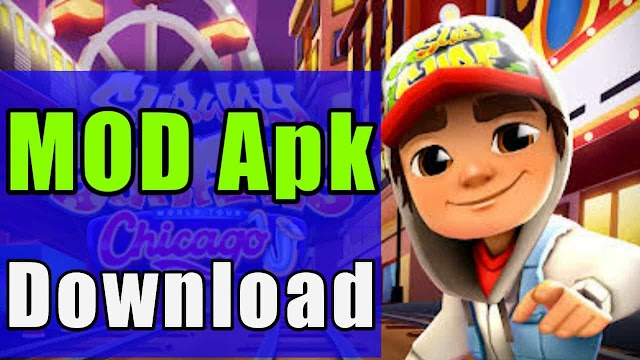 Subway Surfers Mod apk download (Unlimited Stuff)