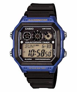Jam Tangan Pria CASIO AE-1300WH-2AV