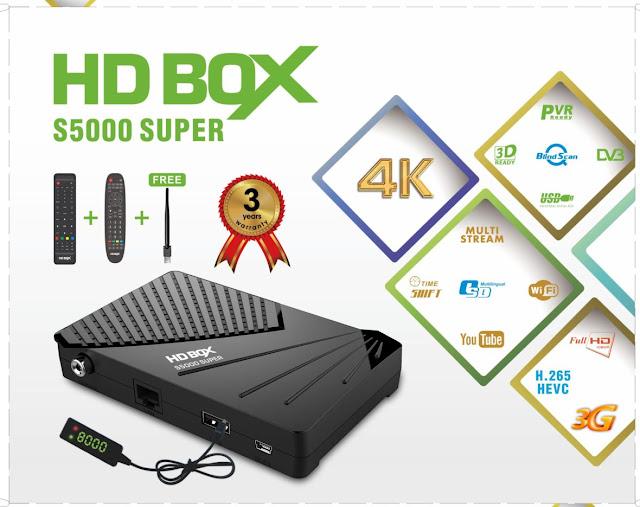 STAR TRACK Hdbox S5000
