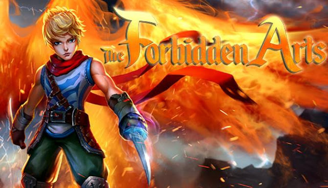 The Forbidden Arts is an adventure platformer for PC with an emphasis on finding secrets and exploring the world.