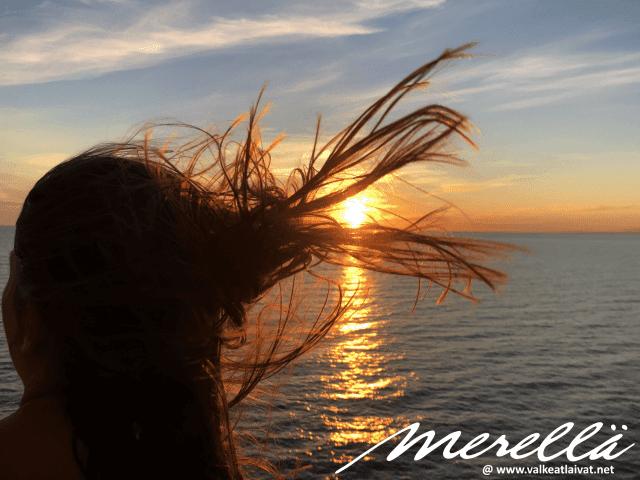 Silja Line Merelle tuulettumaan