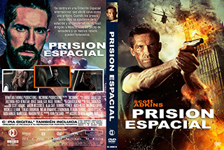 Incoming - Prision Espacial - Cover DVD