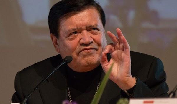 Norberto Rivera es capaz de burlarse de quien sea con tal de mantener su posición; PGR aceptó denuncia: Athié