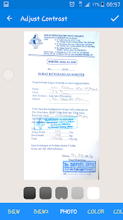 cara scan dokumen dengan hp
