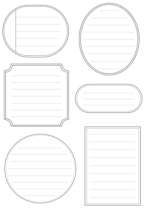 Be Different...Act Normal: Printable Journaling Cards