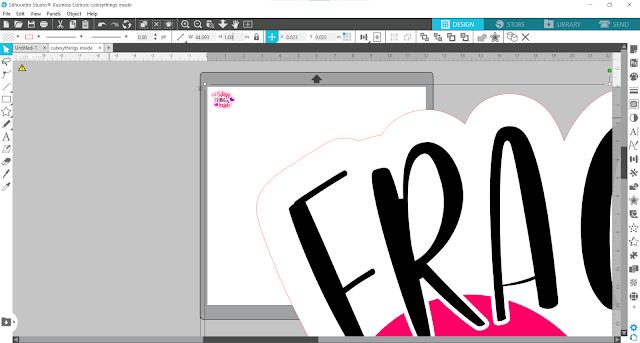 print and cut, silhouette studio, silhouette studio designing, silhouette studio v4, silhouette software, sticker paper