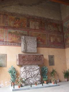 De Gasperi's tomb is in the Basilica di San Lorenzo fuori le Mura in Rome