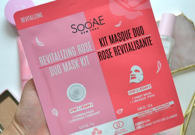sooae rose mask duo