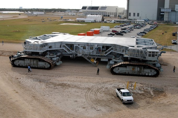 NASA Crawler-Transporter | Detail Information | Images And More