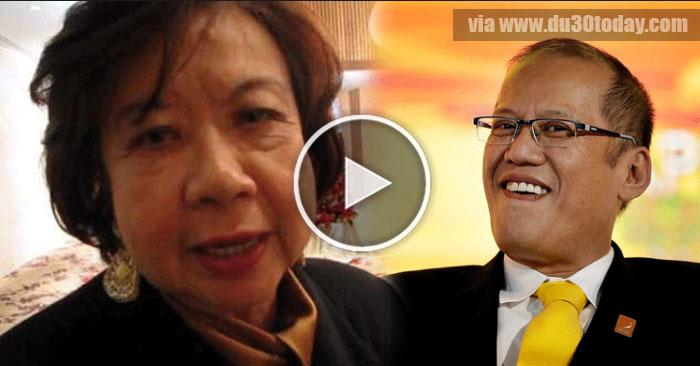 Carmen Pedrosa, Ibinunyag ang itinatagong lihim ni Noynoy Aquino!