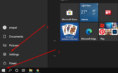 cek tipe windows