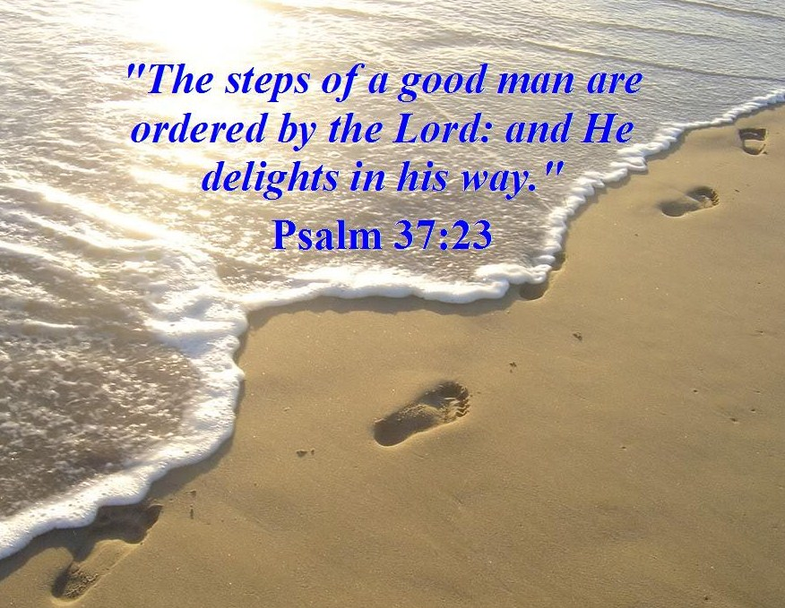 Prayer Pointers Psalm 37 23 Order My Steps O Lord