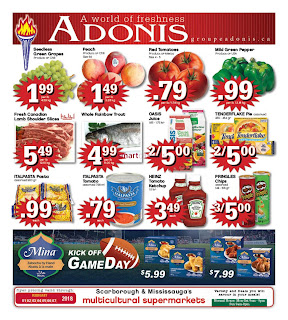 Marche Adonis Canada Flyer February 2 - 8, 2018
