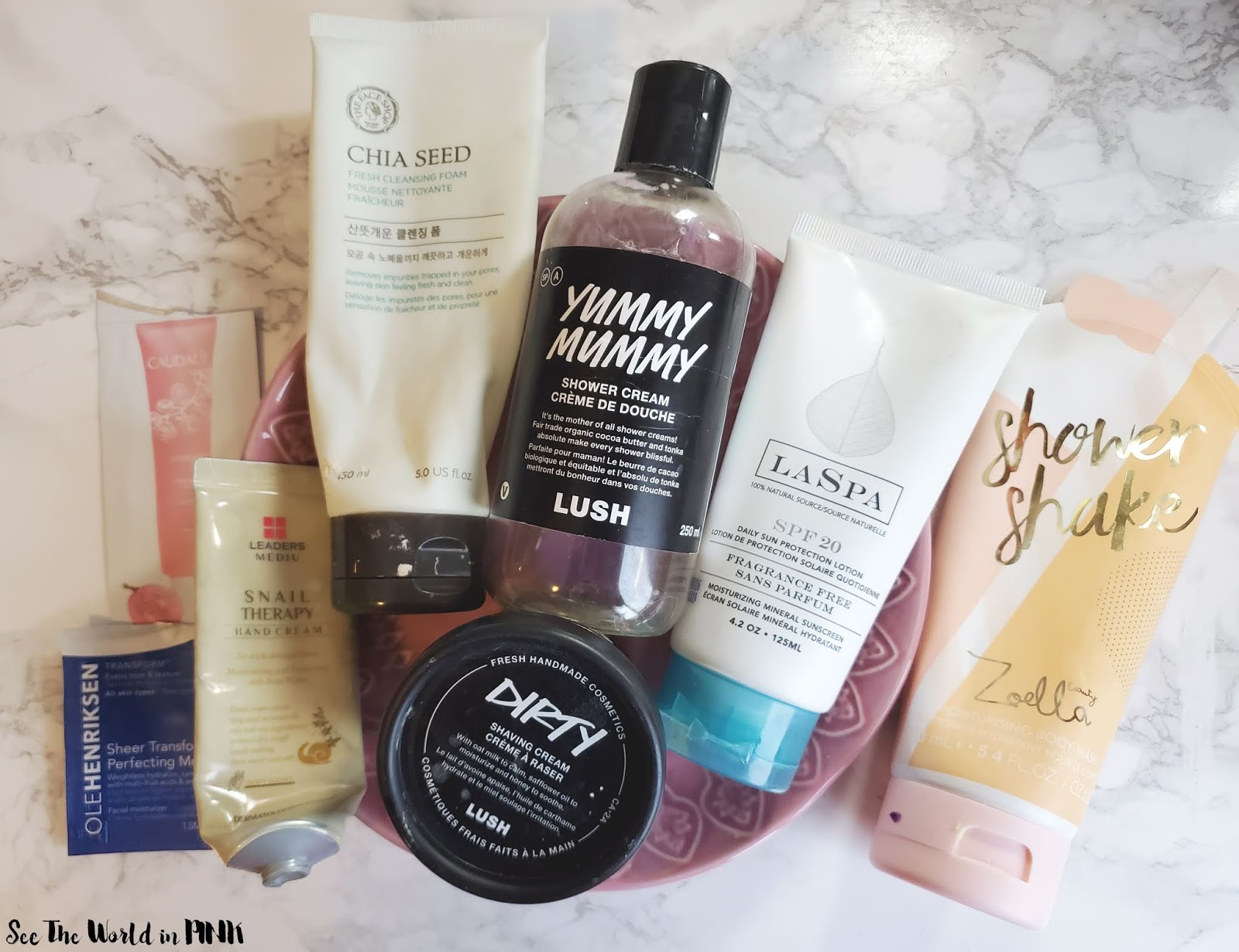 December 2019 Empties & Month in Masks