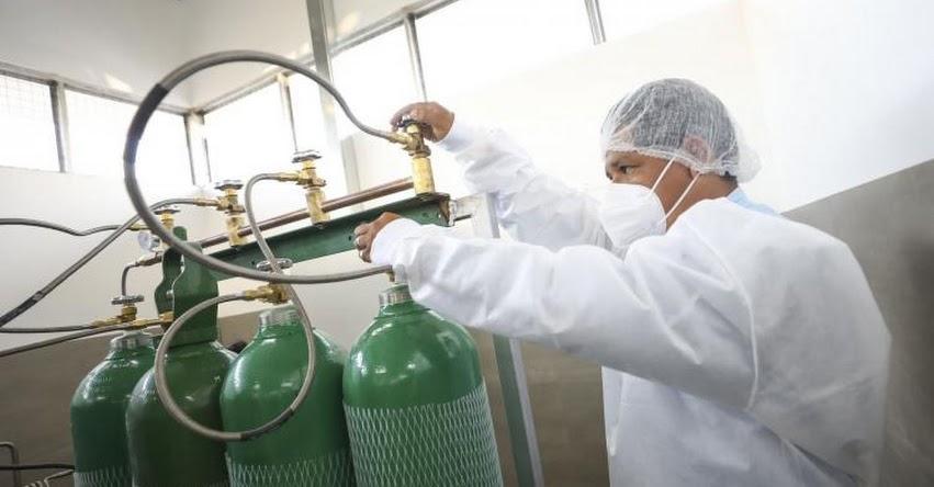 MINSA: Autorizan de forma excepcional ingreso de equipos generadores de oxígeno, informó la Dirección General de Medicamentos Insumos y Drogas - Digemid