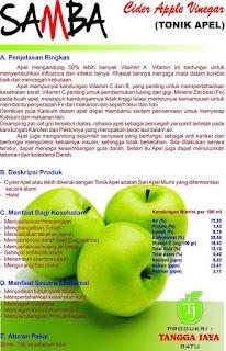 Jual Cuka Apel Di Banyumas Hub. 08563542363