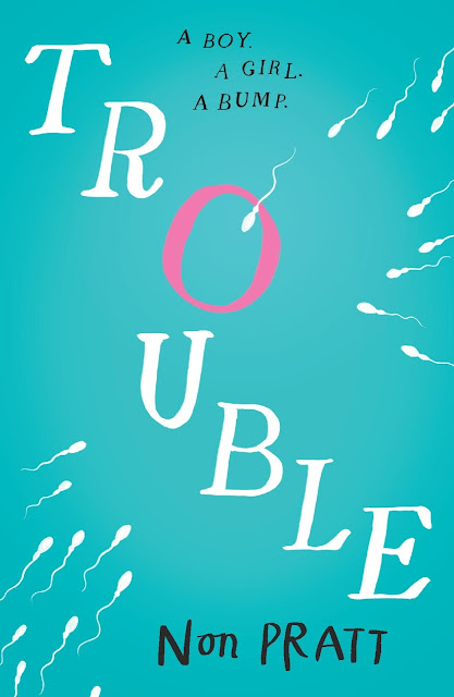 cover of the novel trouble by non pratt