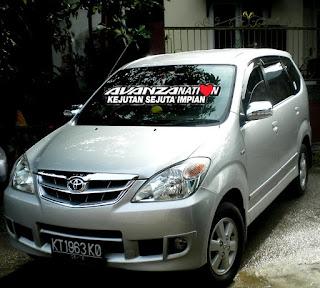 Toyota New Avanza Eksterior