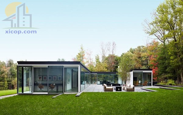 Mẫu nhà mái bằng 1 tầng đẹp phong cách hiện đại