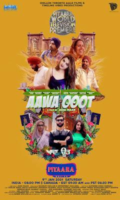 Aawa Ooot (2021) Punjabi 720p   480p HDRip ESub x264 600Mb   250Mb