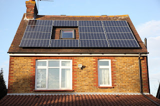 PV Solar Panel Output October 2012
