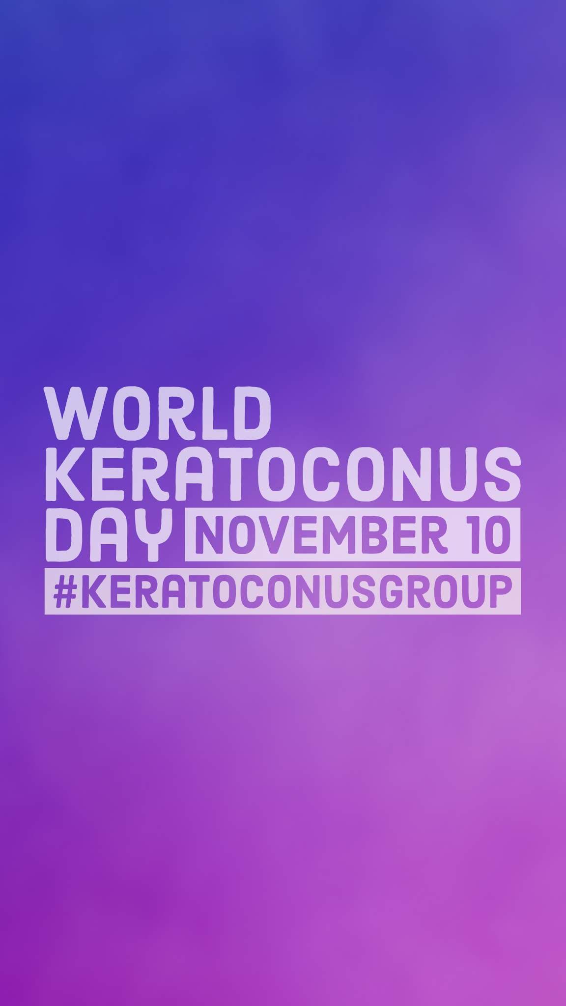 National Keratoconus Day 2018 Mobile Wallpaper