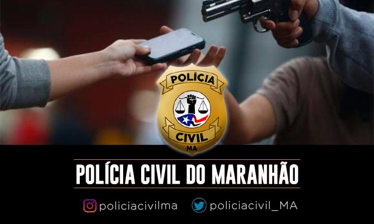 POLÍCIA CIVIL PRENDE HOMEM AUTOR DE VÁRIOS ROUBOS DE CELULARES EM OLHO D'ÁGUA DAS CUNHÃS