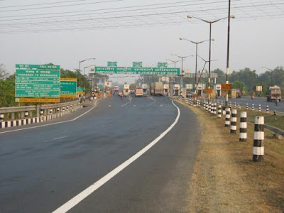 Road  in Durgapur