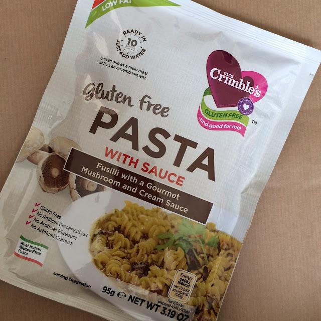 Mrs Crimbles gluten free pasta