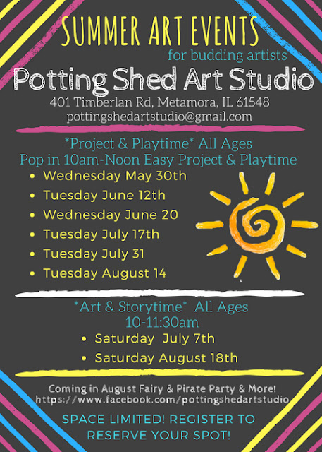 Potting Shed Art Studio