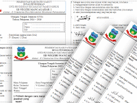 Soal UTS SD Kelas 1, 2, 3, 4, 5, 6, Semester 2 KTSP