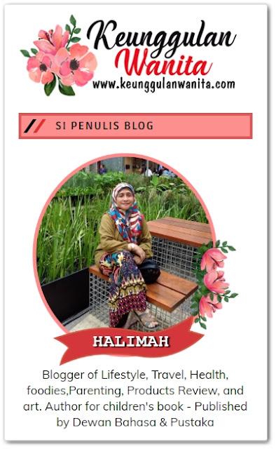 Sahabat blogger pilihan Starlavenderluna : Halimah Muhiden