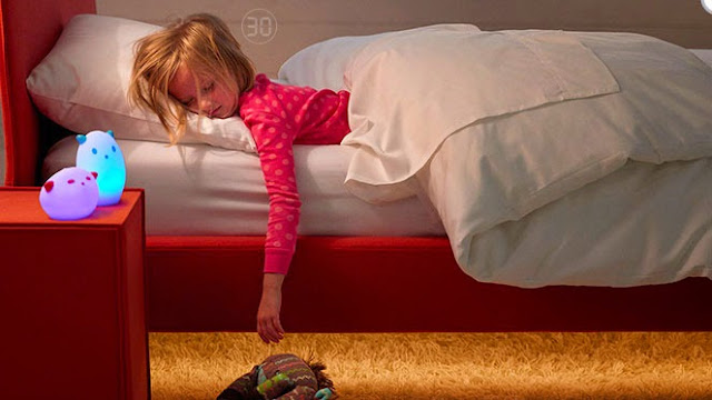 Useful Gadgets For The Helicopter Parent - SleepIQ Kids Bed