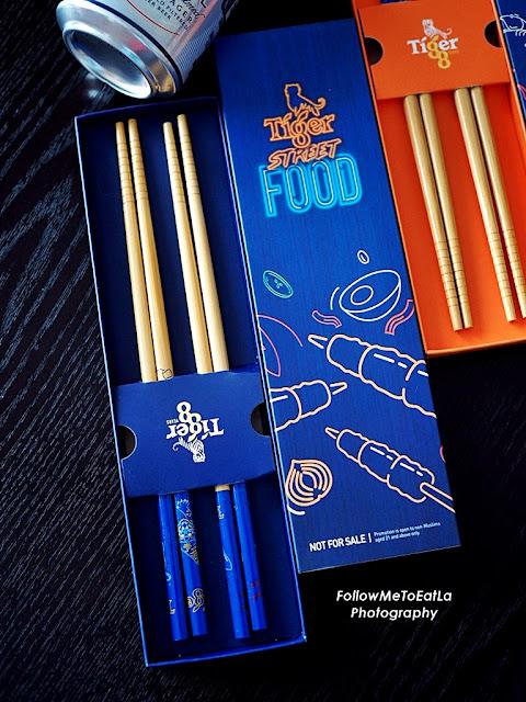 limited-edition Tiger Street Food chopstick set