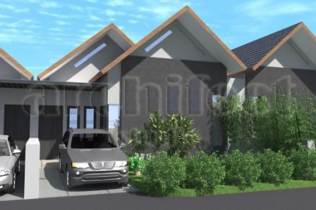 desain rumah modern, minimalis dan tropis