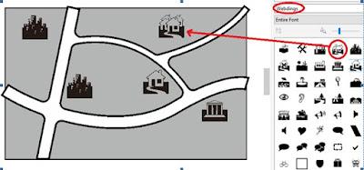 Cara Mendesain Peta lokasi